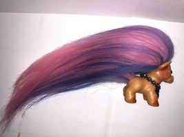 VINTAGE DAM HORSE TROLL ~ FRESH FROM THE TROLL SPA ~ NEW HAIR AND SPARKLE EYES! image 7