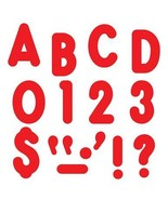 Red Ready Letters 7in Uppercase Billboard Font - $12.99