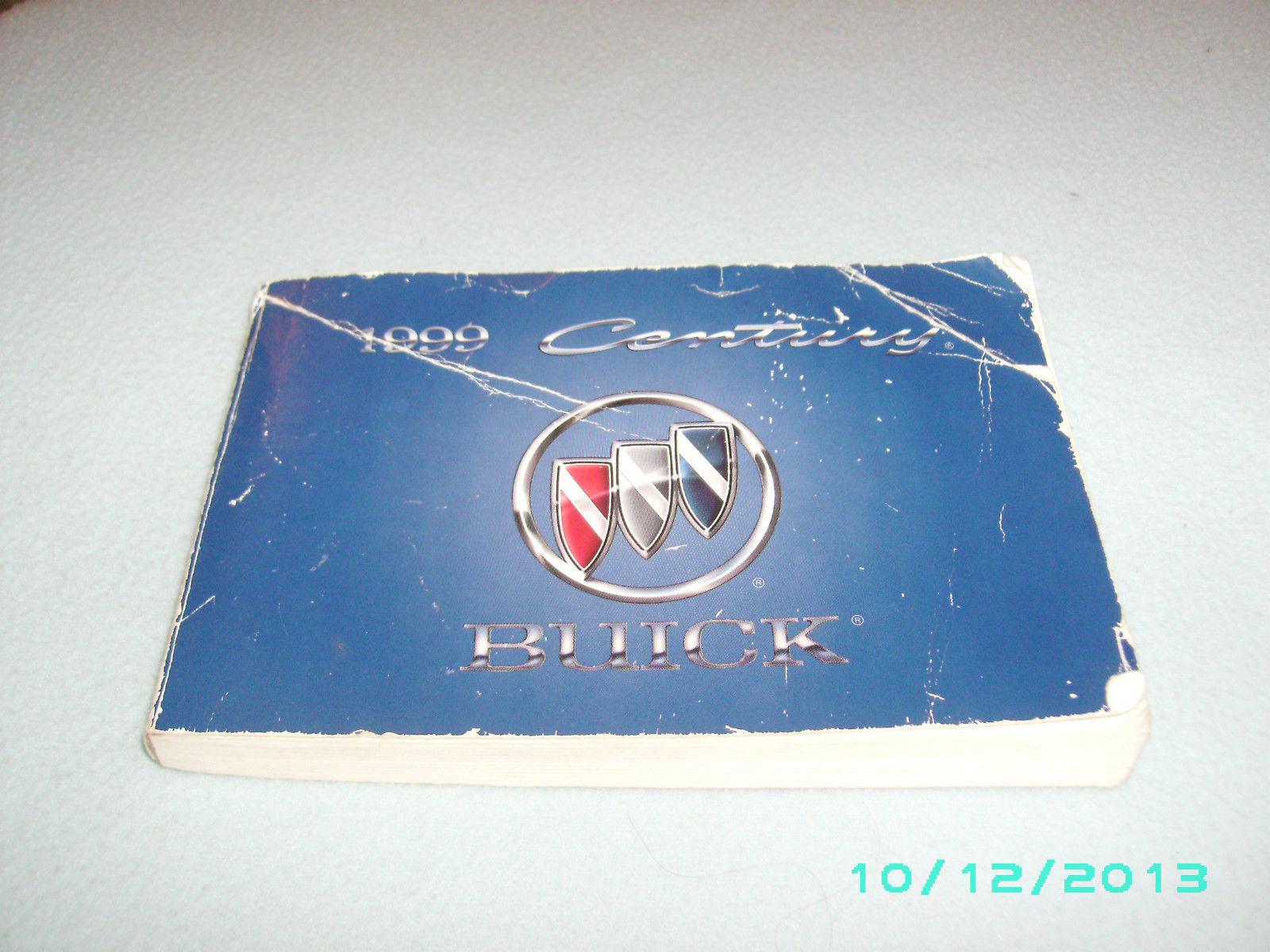 1999 buick century owners manual and 50 similar items rh bonanza com 1999 Buick Century Wiring-Diagram 1999 buick century service manual