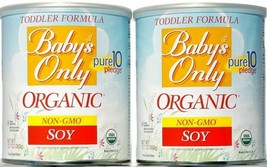Baby's Only Organic Toddler Soy Formula Non-GMO 12.7 oz. Lot of 2 - $27.95