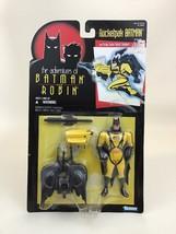 "Rocketpak Batman 5"" Figure The Adventures Of Batman and Robin Vintage 90s Kenner - $22.23"