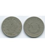 VN49 - 1911 Liberty - V Nickel - $1.90 CAD