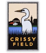 Crissy Field Magnet - Egret at the Airfield, Golden Gate National Parks ... - $8.99