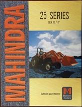 2008 Mahindra 3825, 4025, 4525, 5525, 6525 Tractors Color Brochure - $7.00