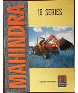 2008 Mahindra 1816, 2216, 2516, 2816, 3316 Tractors Color Brochure - $7.00