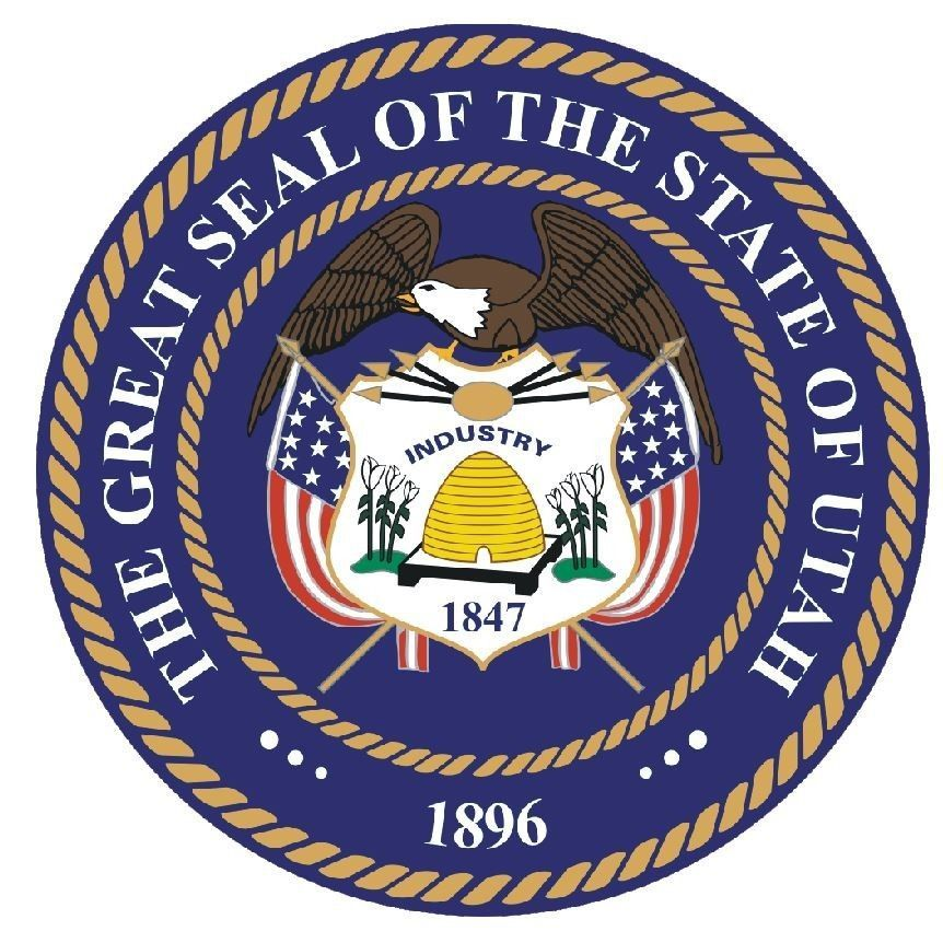 Utah State Seal Sticker MADE IN THE USA R561 - $1.45 - $9.45
