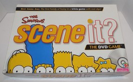 The Simpsons Scene It Trivia DVD Board Game 2009 GUC 100% Complete - $14.03