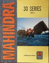 2008 Mahindra 5530, 6030, 6530 Tractors Color Brochure - $7.00