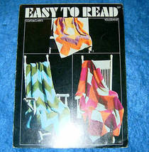 Coats & Clarks Easy To Read Easy To Knit Afghans - $5.00