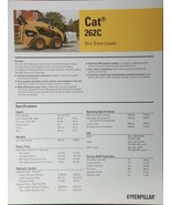 2008 Caterpillar 262C Skid Steer Loader Specifications Brochure - $6.00