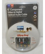GE 87651 Six Foot Component Video And Digital Optical Audio Cable - $10.65