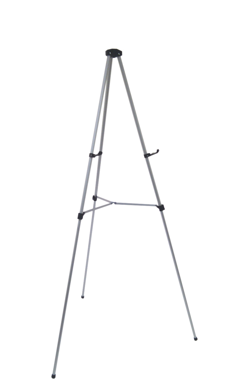 Primary image for Lightweight Aluminum Telescoping Display Easel, Silver