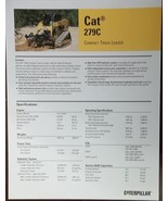 2008 Caterpillar 279C Skid Steer Track Loader Brochure - $6.00