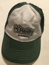 O'Reilly Auto Parts Men's Green Baseball Cap Hat Cap White Adjustable Tr... - $10.39
