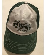 O'Reilly Auto Parts Men's Green Baseball Cap Hat Cap White Adjustable Tr... - $10.39