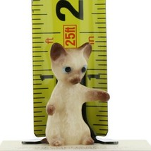 Hagen Renaker Miniature Cat Siamese Kitten Sitting Ceramic Figurine image 2