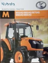 2008 Kubota M5040, M6040, M7040, M8540, M9540 Tractors Brochure - $8.00