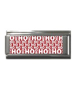 Ho Ho Ho Christmas 9MM Superlink Charm - $4.99