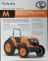2008 Kubota M5640SU, M7040SU Special Utility Tractors Brochure - $7.00