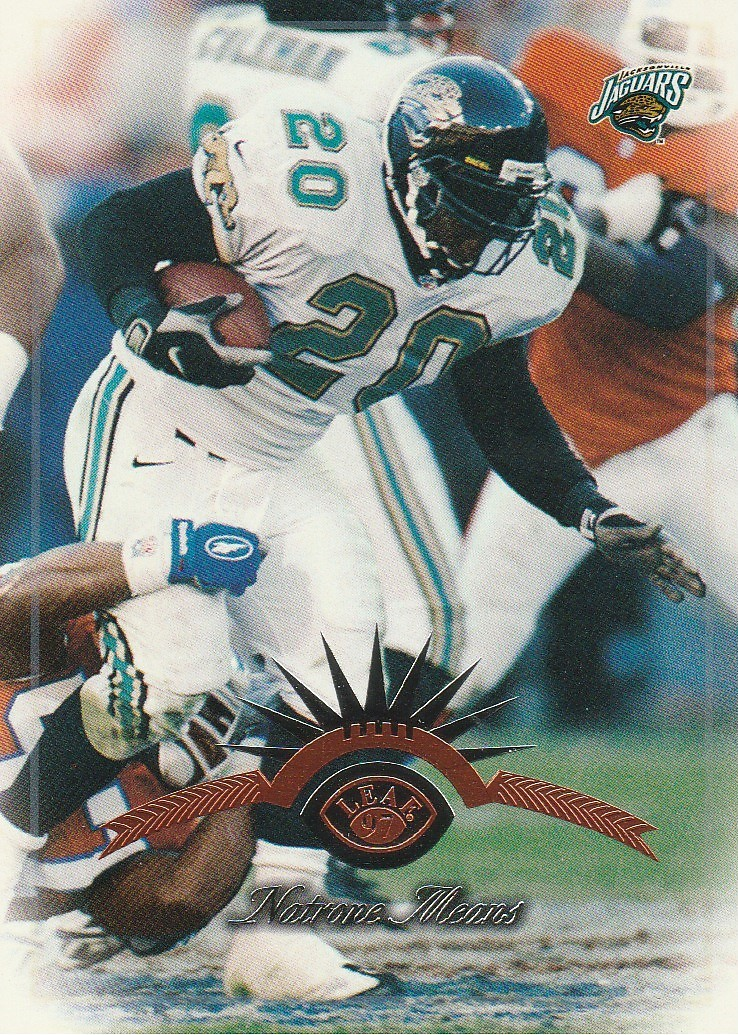 Primary image for 1997 Leaf #56 Natrone Means