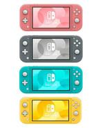 Nintendo Switch Lite 32GB Handheld Video Game Console NEW Yellow Gray Tu... - $239.99