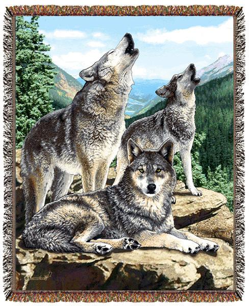 Emily throw wolf grey song  af513
