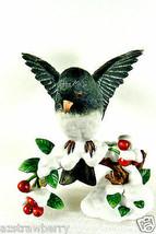 Lenox 1991 Dark-Eyed Junco Uccello Fine ( Bello) Statuina di Porcellana - $49.53