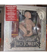 The lord of the rings two towers collectors dvd set with gollum statue - $105.00