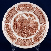 """Meakin 7"""" Bread or Dessert Plate USS Constitution Fair Winds Chinese Export - $4.50"""