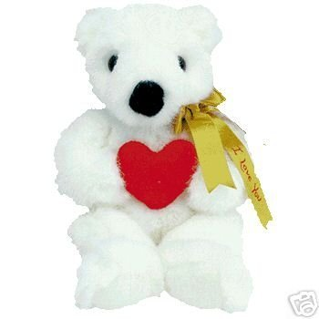 Primary image for Ty Classic ~ Romeo the Bear ~ with gold ribbon Mint MWT