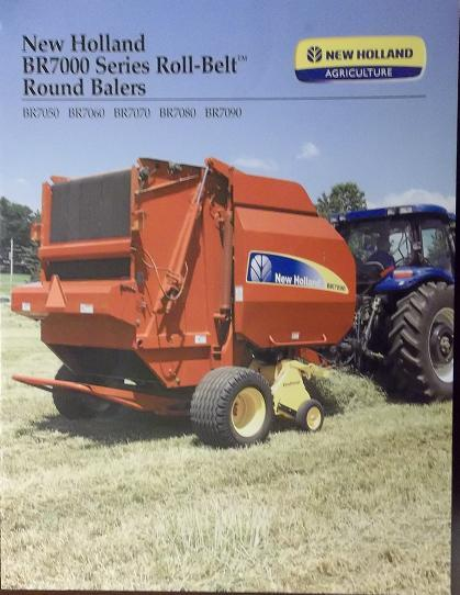 Primary image for 2008 New Holland BR7050, BR7060, BR7070, BR7080, BR7090 Balers Brochure