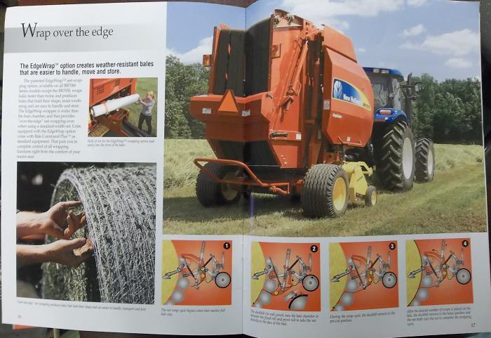 2008 New Holland BR7050, BR7060, BR7070, BR7080, BR7090 Balers Brochure