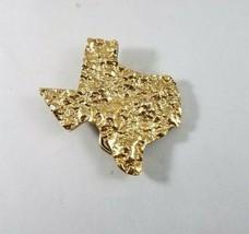 Texas Belt Buckle Blue Bayou Brass Vintage  Serial Number 854 - $19.99