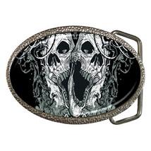 Skulls Belt Buckle - $19.95