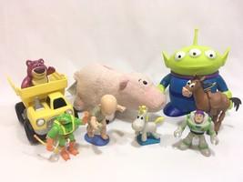 """Disney Pixar Toy Story 3 Alien 6"""" Thinkway Toys Bullseye Buzz Lotso PVC ... - $34.64"""