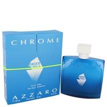Chrome Under The Pole by Azzaro Eau De Toilette Spray 3.4 oz for Men - $40.95