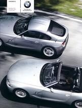 2008 BMW Z4 coupe roadster sales brochure catalog US 08 - $9.00