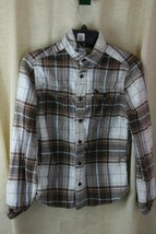 Abercrombie Boys Muscle Long Sleeve Plaids Dress Shirt Sz L - $7.90