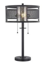 Table Lamp DALE TIFFANY GRIFFIN 2-Light Dark Antique Bronze - $424.00