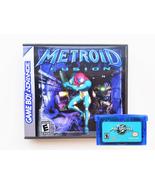 Metroid Fusion w/ Custom Case  - Nintendo Game Boy Advance GBA  (USA Seller) - $23.99