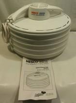 Nesco Snackmaster American Harvest Food Dehydrator Jerky Maker  FD-35 NE... - £18.38 GBP