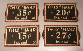 Fruit Dispatch Co. This Hand Price Markers - $16.00