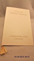 Missouri Statehood Commemorative Stamp Ceremonies program First Day Issu... - $5.89