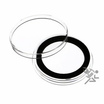 1.5oz Silver Canadian Coin Capsules, Air-Tite Holders X38mm Black Ring, ... - $24.95