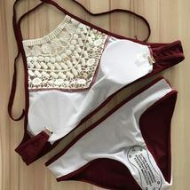 Women's Padded Pushup Bikini Set Swimsuit Bathing Suit Size 10 image 4