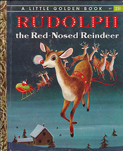 Rudolph the Red-Nosed Reindeer Little Golden Book (2nd print) - $8.07