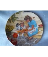 "VINTAGE MOTHER'S DAY PLATE by MIKE HAGEL/ FIRST EDITION ""ONCE UPON A TIM... - $12.00"