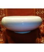 Frankoma Pottery 212 White Round Cupped Bowl Planter - $24.00