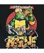 Teenage Mutant Ninja Turtles Black T-Shirt Video Game Rescue Size Large ... - $19.79