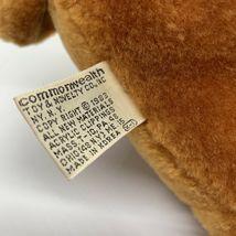 "Sunburst Pets 1983 Vintage Plush Brown Dog Commonwealth Vtg Stuffed Animal 13"" image 9"